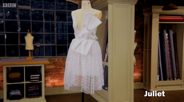 juliet net curtain dress