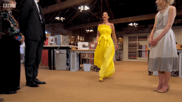 leahs yellow gown