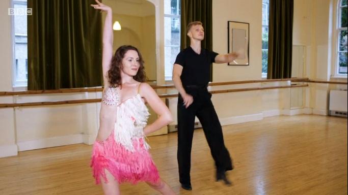 alex dance partner dress