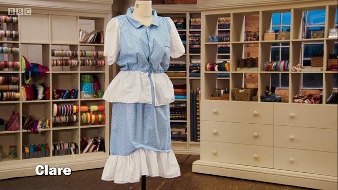 clare nurse outfit
