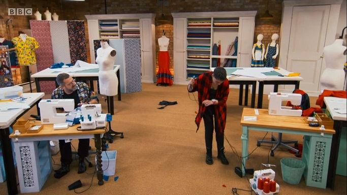 liz vs sewing machine