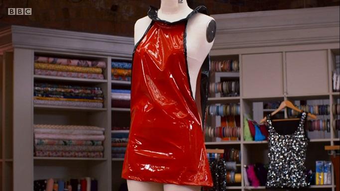 matt space dress