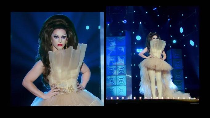Miz Cracker nude runway