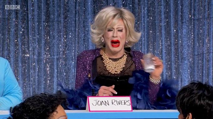 Jimbo as Joan Rivers