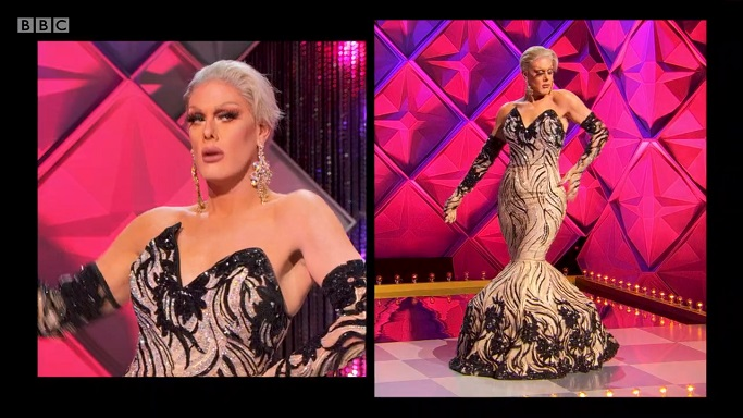 Rita Baga pageant gown