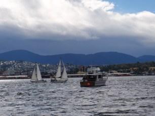 Alaska 45 - the start boat