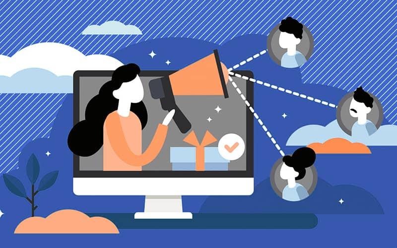 Usa las redes sociales para aumentar el boca a boca de tu marca