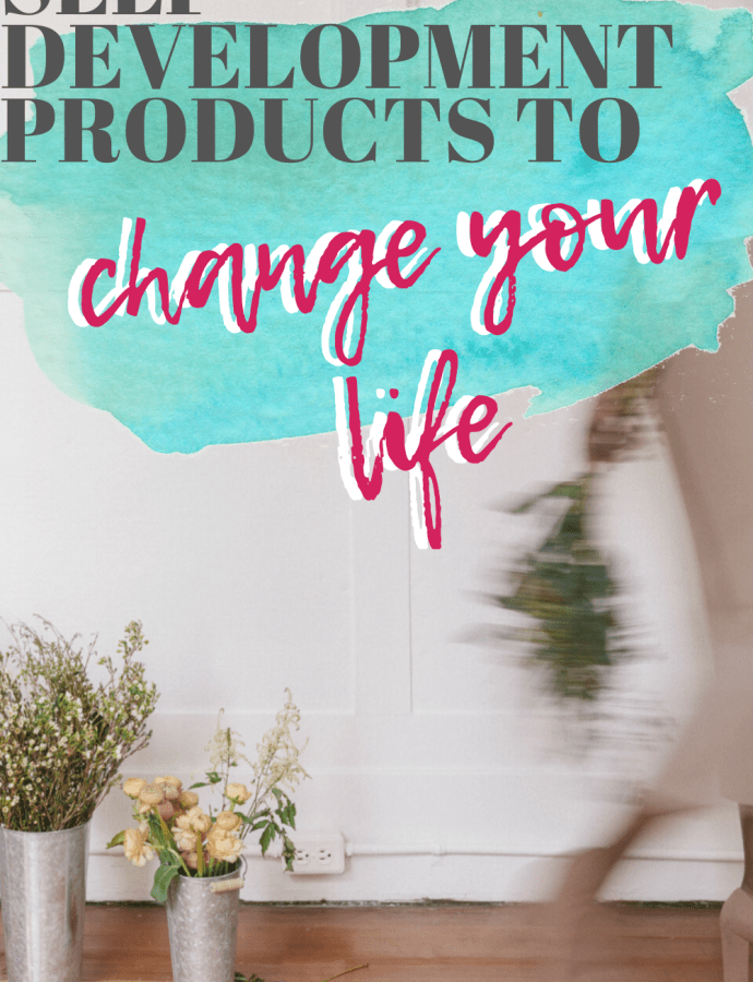 How to Improve Your Life During Isolation: Self-Development Products to Change Your Life