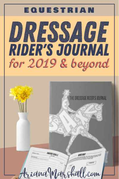 Dressage Rider Journal #dressage #dressagetraining