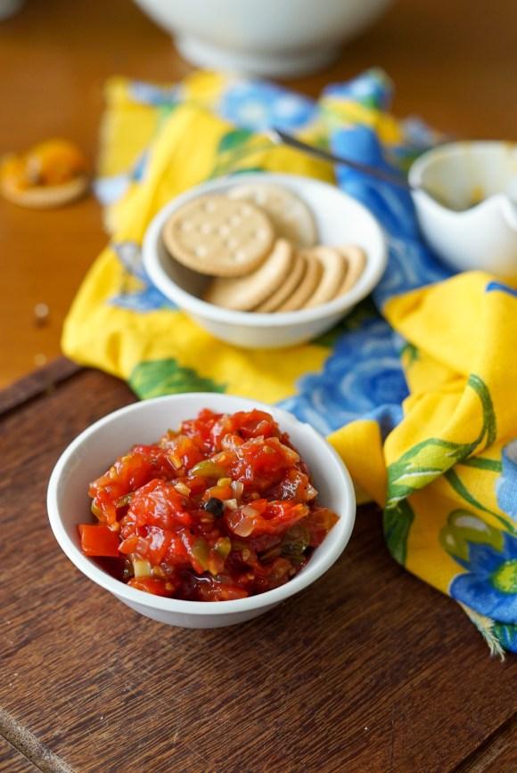 chutney de tomate caseiro
