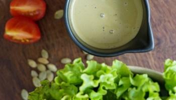 molho para saladas verde