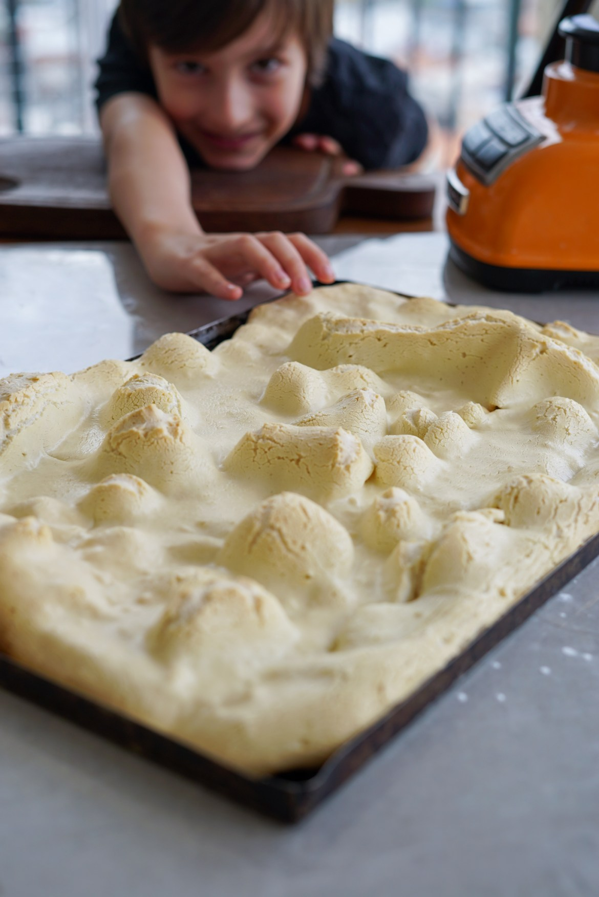 como fazer biscoito de polvilho de assadeira