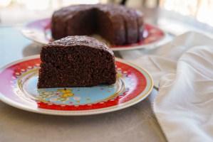 bolo sem farinha de chocolate e coco - bolo sem gluten
