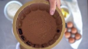 bolo sem farinha de chocolate e coco