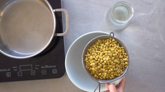 como cozinhar lentilha sem desmanchar