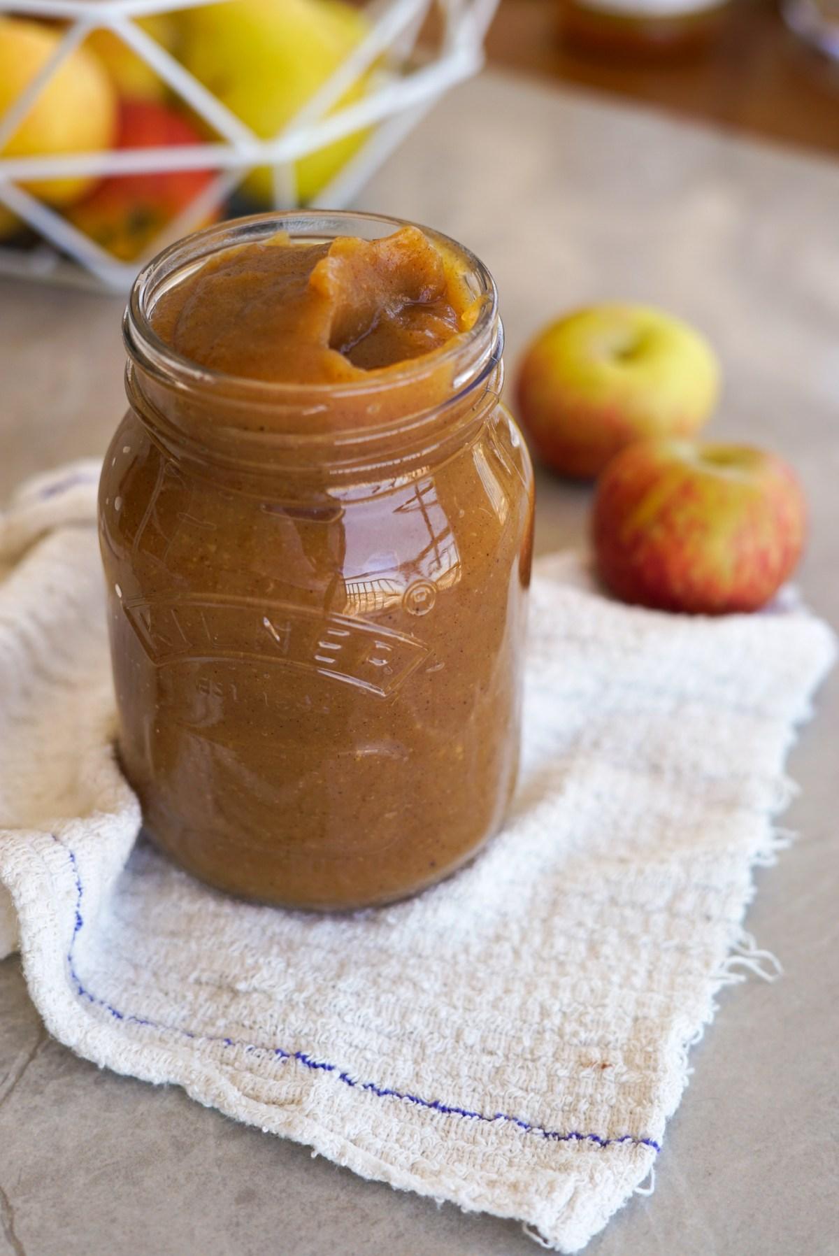 como fazer apple sauce em casa