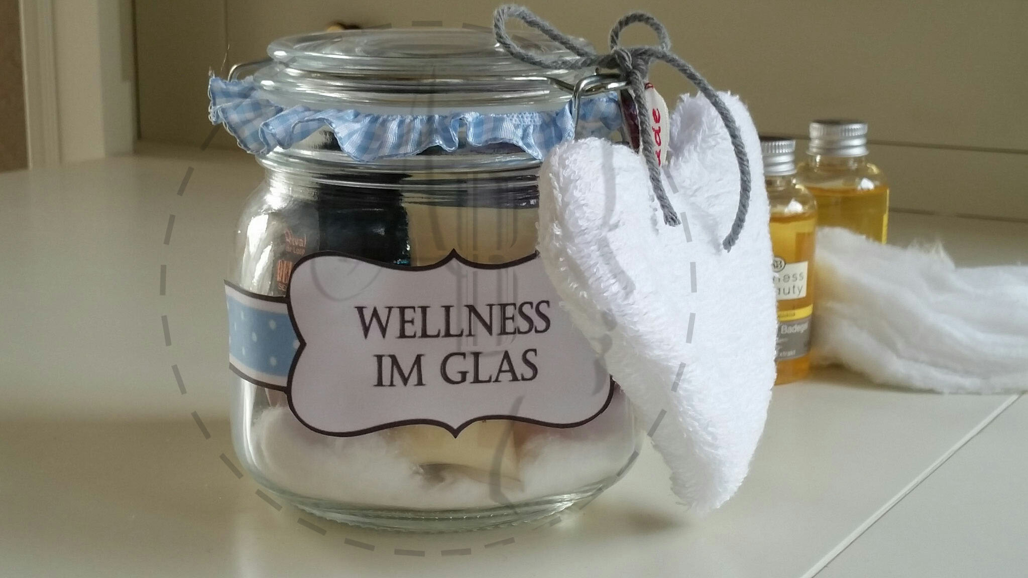 Wellness im Glas