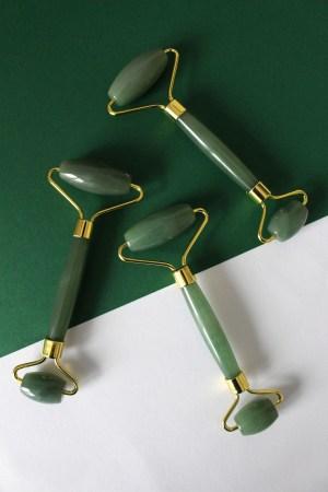 Jade Roller Jade Roller und Gua Sha Set