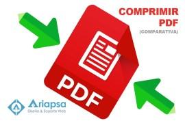 Tres sitios para comprimir PDF en linea (comparativa)