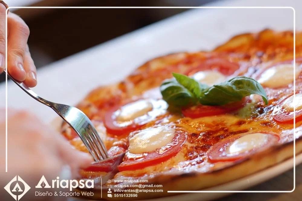 blog sobre pizzas diseño web en mexico ariapsa