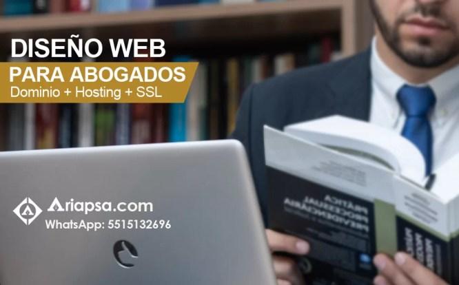 Ariapsa Abogados Diseño Web
