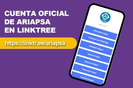 Ariapsa en Linktree