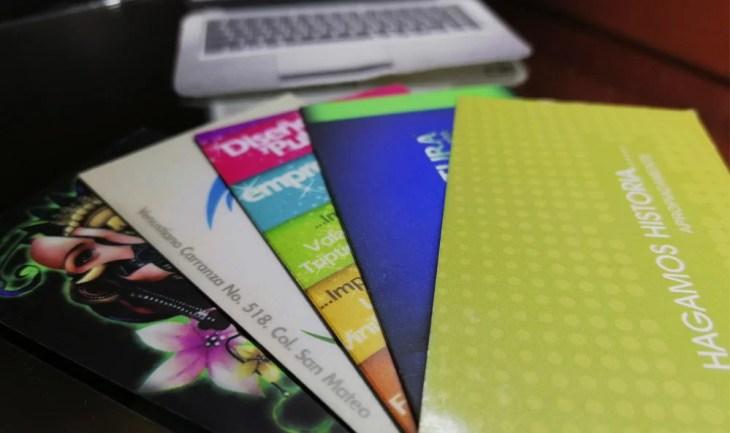 Diseñamos tarjetas de presentacion, Monterrey y todo México