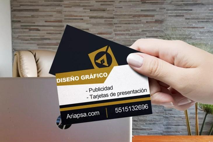 Diseño gráfico diseño de tarjetas ariapsa México