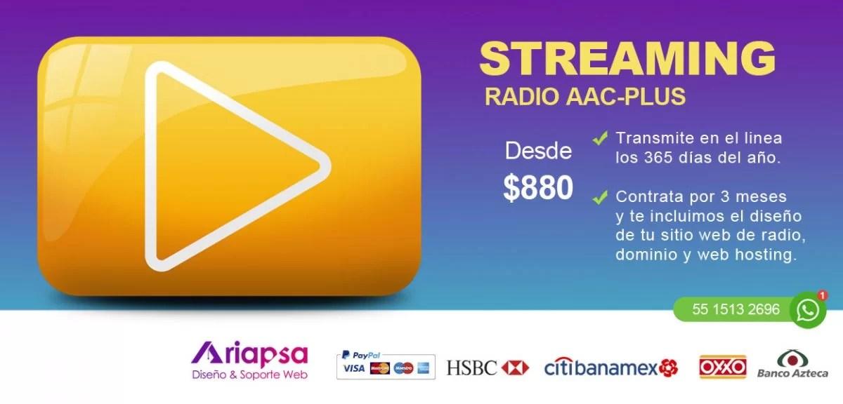 Streaming radio ariapsa Mexico 1