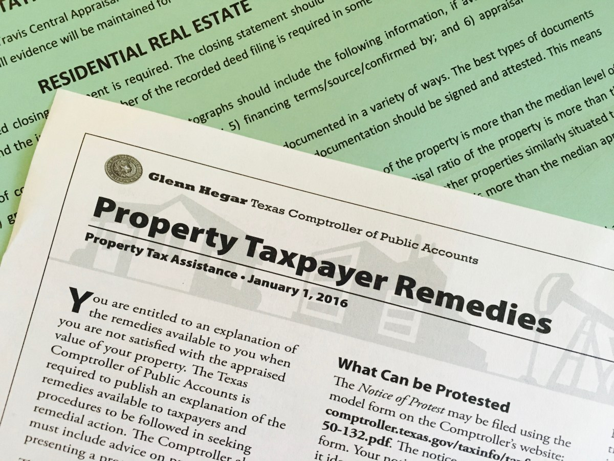 Why you should protest your tax appraisal every year (& how)