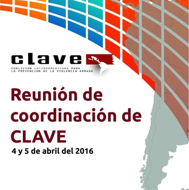 Reunión de coordinación de CLAVE