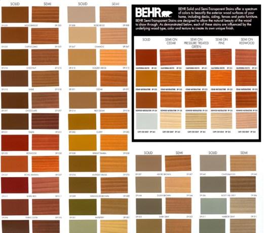Behr Exterior Deck Paint Colors