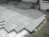 bluestone patio patterns  Design and Ideas