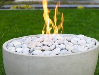 Ceramic Fire Pit Chimney  Design and Ideas