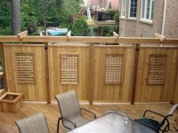deck privacy screen ideas  Design and Ideas