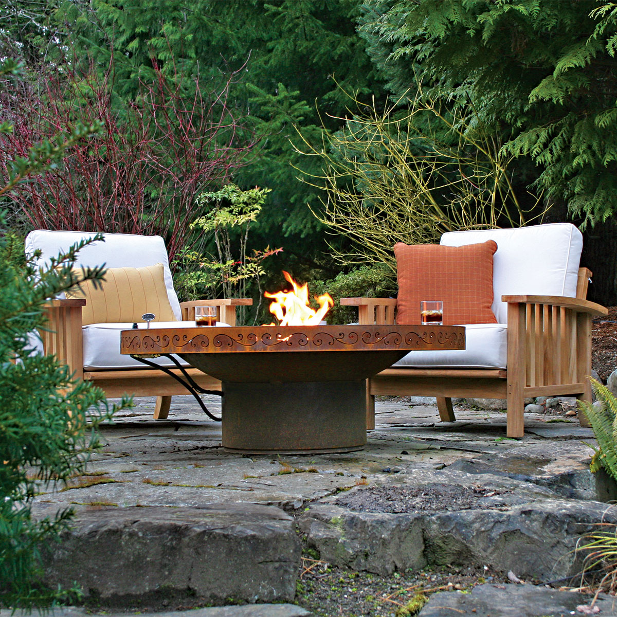 Stone Fire Pits Home Depot Design And Ideas
