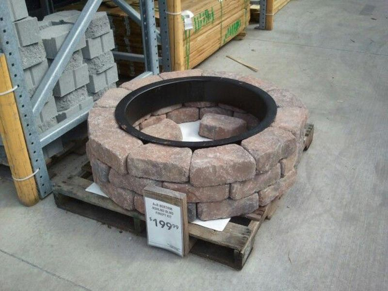 clay fire pit lowes  Design and Ideas
