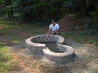 fire pit bench designs  Design and Ideas