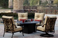 fire pit table set with chairs  Design and Ideas