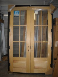 Wooden French Doors