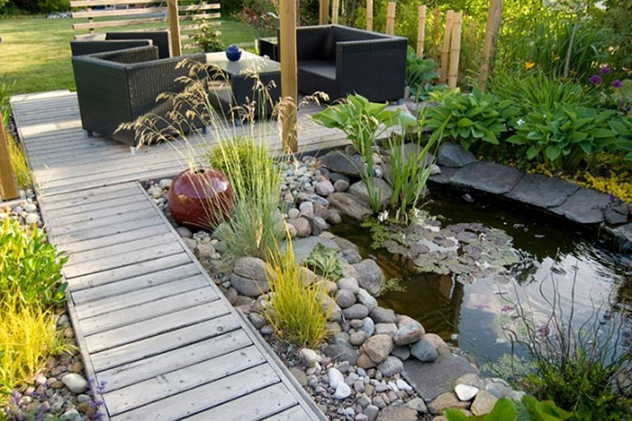 landscaping with rocks and plants  Design and Ideas