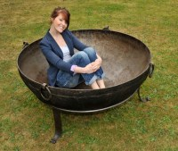 large fire pit bowl  Design and Ideas