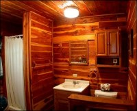 log cabin bathroom designs  Design and Ideas