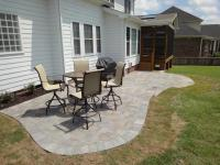 Patio Stone Deck Ideas  Design and Ideas
