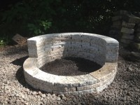 paver fire pit crack  Design and Ideas