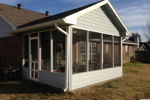 Mobile Home Screened in Porch Ideas