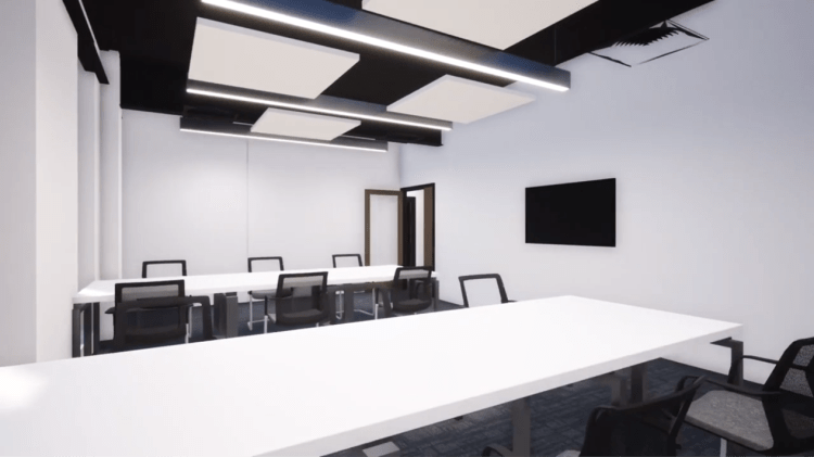 Business incubation room