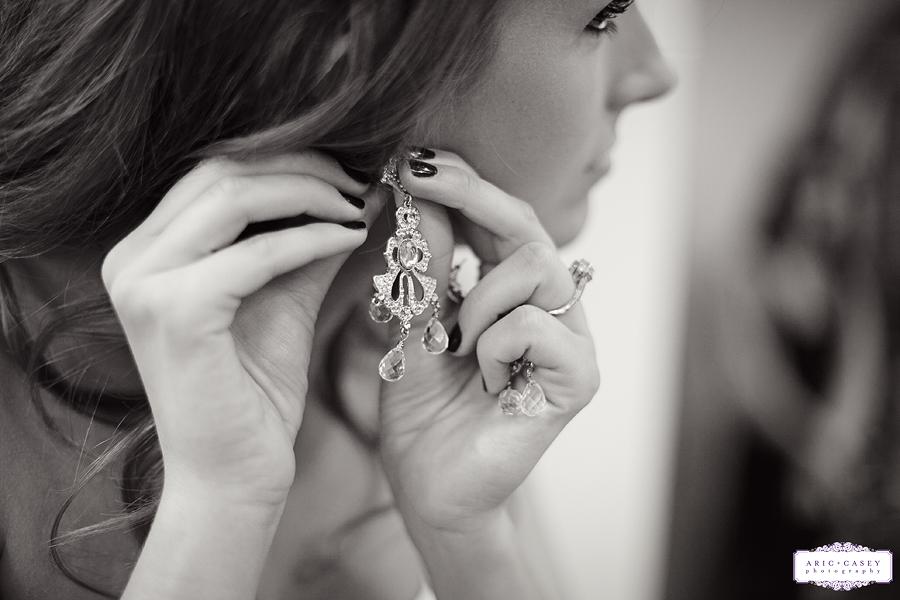 beautiful wedding earrings