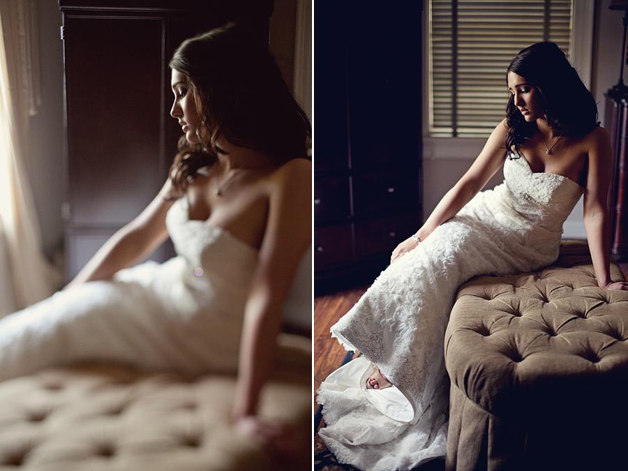 Romantic Bridal Portraits: Megan Gafford Cannon Bridals