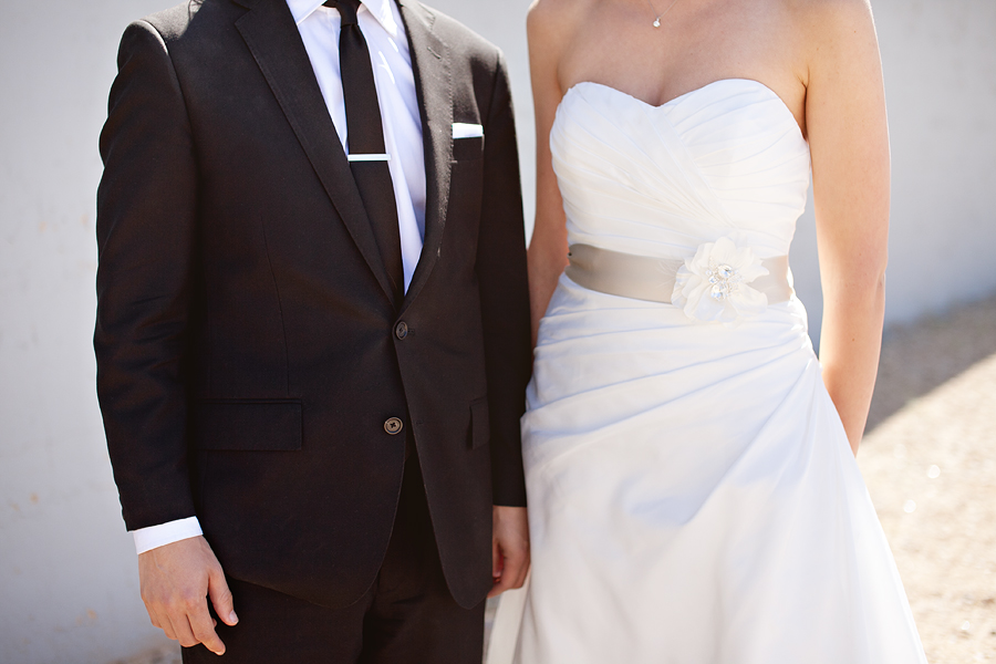 Modern Black and White wedding attire lubbock texas wedding photographer aric and casey photography